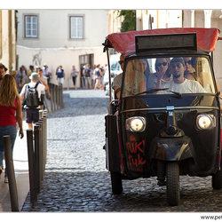 Tuk tuk in Lissabon