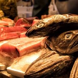 Sevia, vismarkt