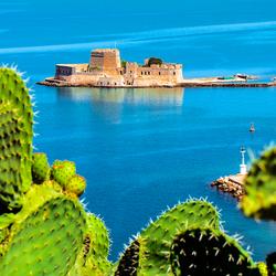140729 Griekenland Nafplio, Bourtzi eiland