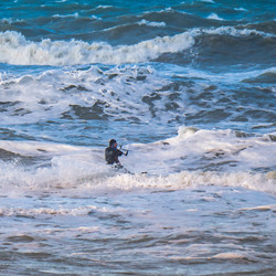 Stormy surfer II