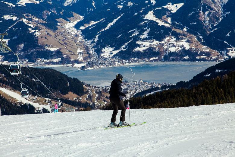 Het ravijn in skien in Zell am See