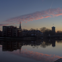 Morning over Zwolle