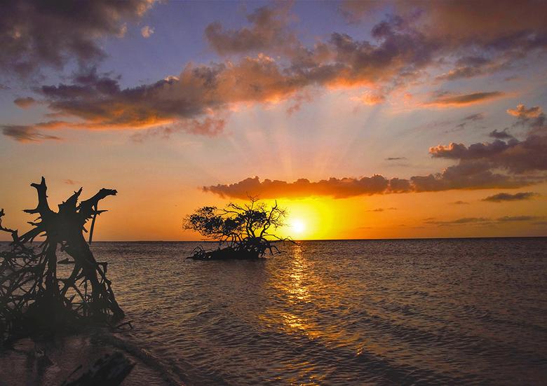 Sunset to love - Genoten van een mooie zons ondergang.
