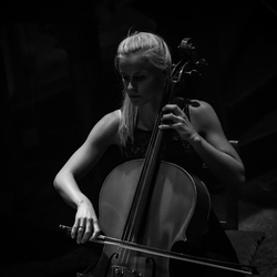 Celliste in actie...