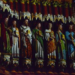 Notre Dame van Amiens tijdens klank en lichtspel