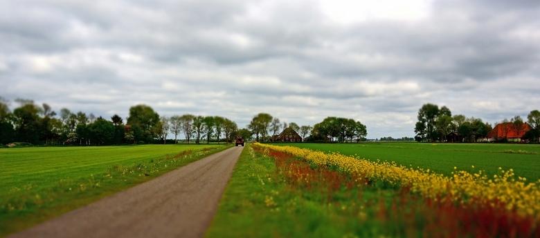 Scheiding Wieden - Weerribben - Rondje IJsselmeer - . .  ondanks de verkeerde knop (gelijk als de voorgaande foto) ... . toch deze even laten zien hoe