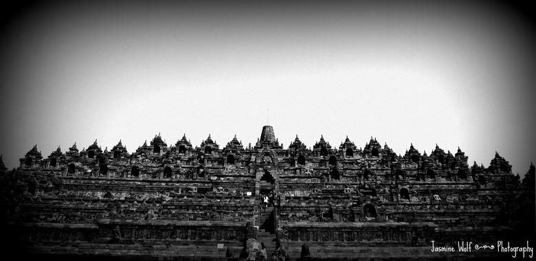 Borobudur - De mooiste architectuur in Indonesië.