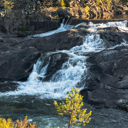 noorwegen waterval Leira 1noorwegen waterval Leira 1
