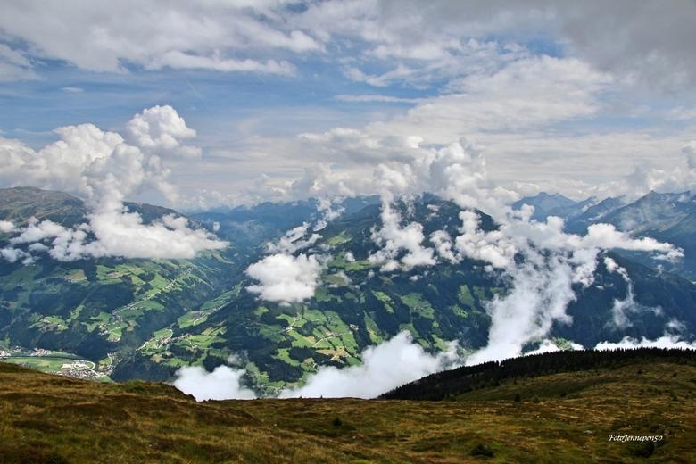 Zillertaler Höhenstraße Tirol Oostenrijk