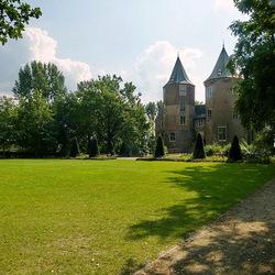 Tegenlicht kasteel Dussen.