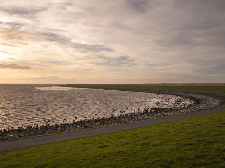 Waddendijk, Terschelling - Waddendijk op Terschelling