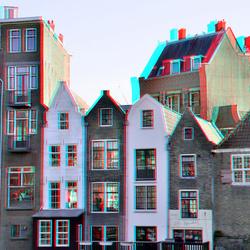 gevels Delfshaven Rotterdam 3D