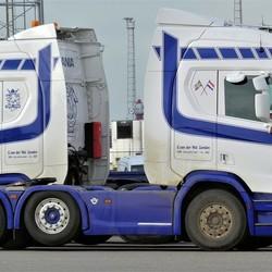 P1090606 TRUCK TIME  H v H Stena line lokatie  TWEELING  Scania  uit Lienden 5 nov 2019