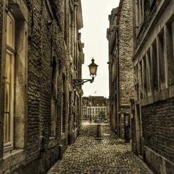 Een straatje in Maastricht