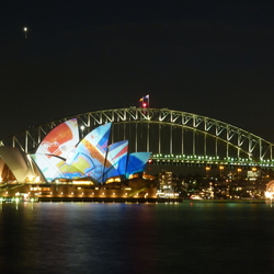 Lightshow @ Sydney Opera House