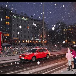 Schnee im Neurenberg...
