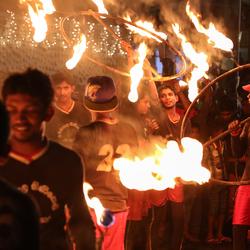 Fire dance - Sri Lanka