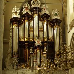 Orgel en interieur Grote kerk Dordrecht