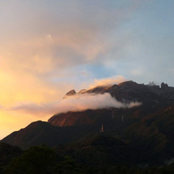 Mount Kinabalu sunset
