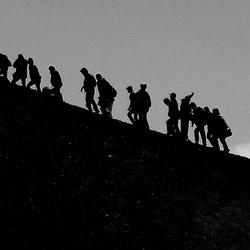 Lopen op de Etna