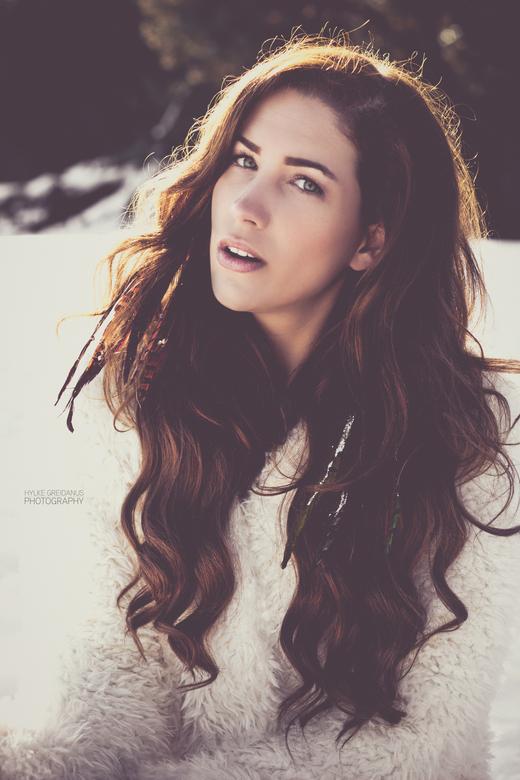 Snow feelings - Model: Nadia Dekkers