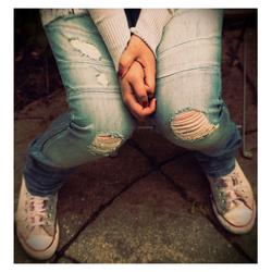 Nieuwe (?) spijkerbroek