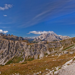 panorama Auronzo-Hütte