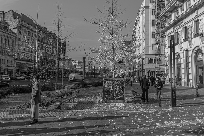 Straatfoto Boedapest -