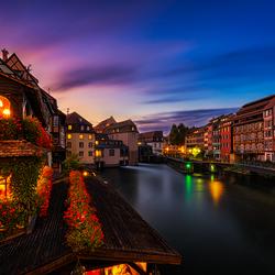 Kleurrijk Straatsburg