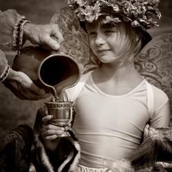 een klein prinsesje