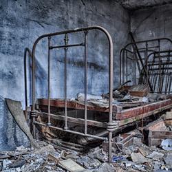Broken bed