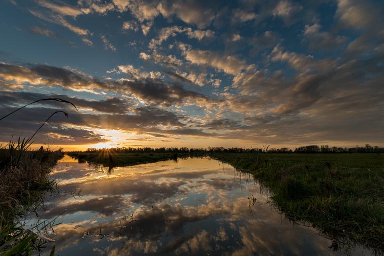 Biesbosch...wat was zonsondergang toch weer prachtig! - Afgelopen vrijdag nog even de Biesbosch in geweest...<br /> Wat was het weer mooi!