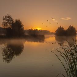 een heerlijke rustige ochtend
