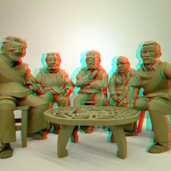 Paper-art Coda-museum Apeldoorn 3D