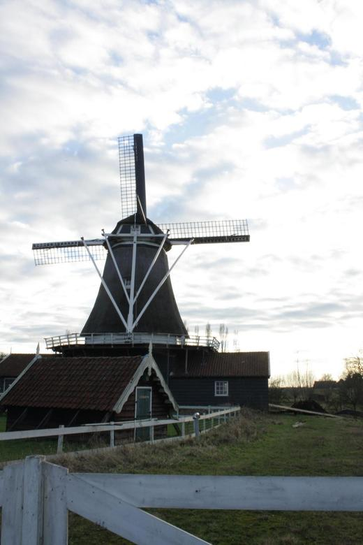 Bolwerkse molen - Gemaakt tijdens de hoog waterstand in Deventer.