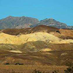 Regenboogrotsen Death Valley