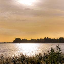 Uitzicht op het Hollandsdiep - Biesbosch