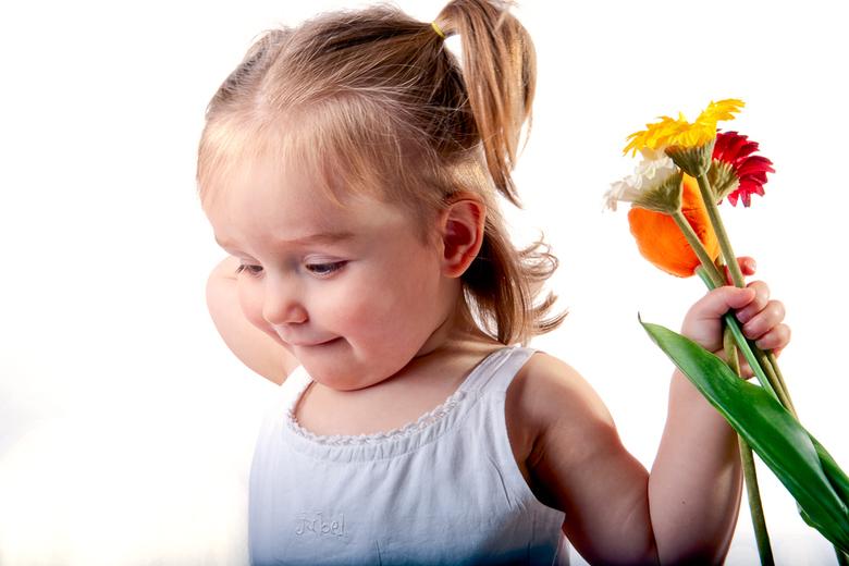 Lente - Spelen met bloemen