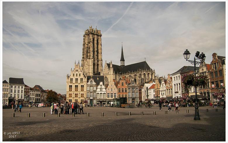 Grote markt van Mechelen