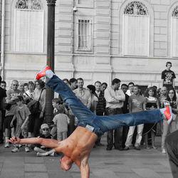 Straatartiesten Parijs