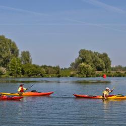 Kanoën op de Maas
