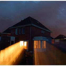 Apart verlicht huis