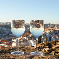 View with a wine, Lisboa