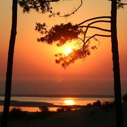 Sunset at Pyla