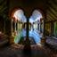 Verlaten Griekse badkamer