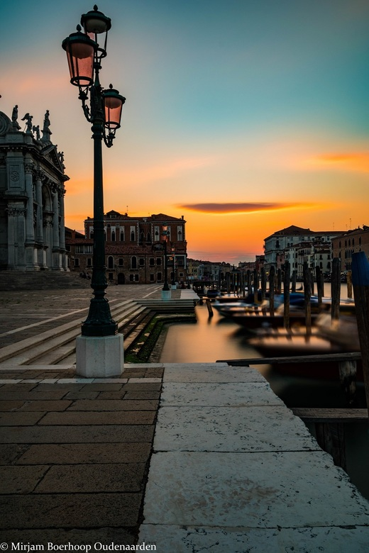 Nightfall in Venice