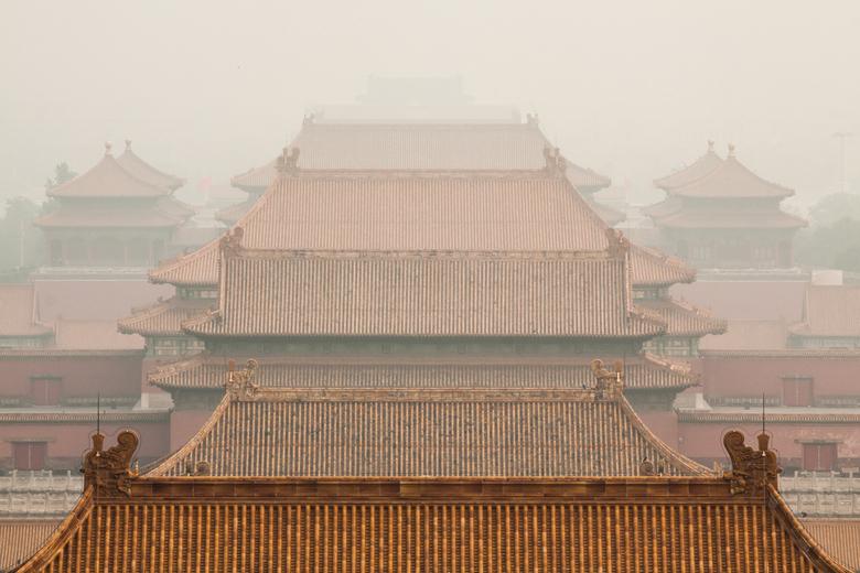 """Forbidden City - Hier weer een foto uit China. Om precies te zijn de hoofdstad van China, Beijing. Daar ligt """"The Forbidden City"""", van hieru"""