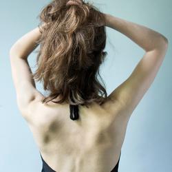 Haar rug
