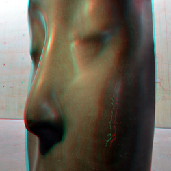 Sculpture Jaume Plensa in BAZ 3D