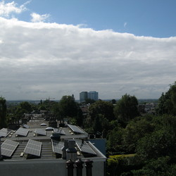 Uitzicht over Arnhem